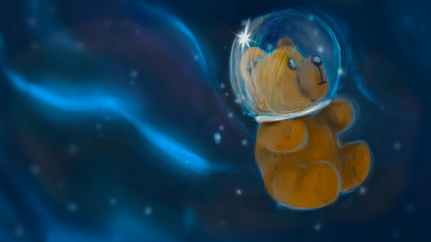 space teddy by Absalem
