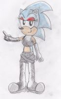 Sonic The Bad Girl-Fiona-Style by ClassicSonicSatAm