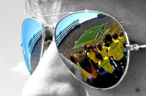 Maize and Blue by nickmitchell