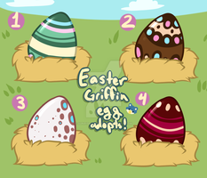 Easter Griffin Egg Adopts Auction! -Open- by Sunrise-Adopts