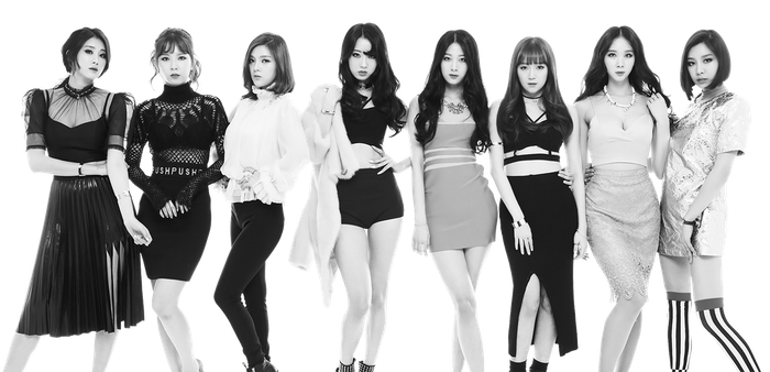 9Muses render by dyloveskpop