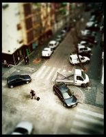 Tilt-shift Walking Machines by E-325