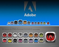 Icons Adobe by gormelito