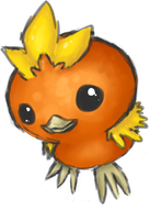 255 - Torchic by VolatileFortune