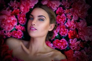 Bed of Pink by JenniSjoberg