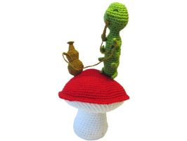 hookah smoking caterpillar by andricongirl
