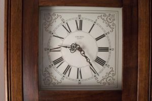 Grandfathers Clock Face Stock by paintresseye