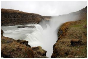 Gullfoss by escape-is-at-hand