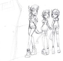 Future babies part1 (the girls) by LilithIrina