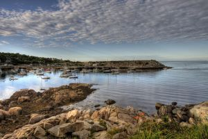 HDR Rockport Harbor 2 by photoboy1002001