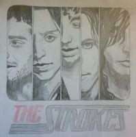 The Strokes by originofemilie