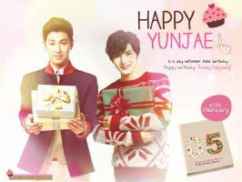 Happy Yunjae day by valicehime