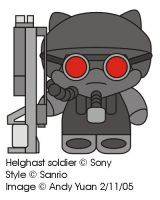 Helghast Kitty by c-force
