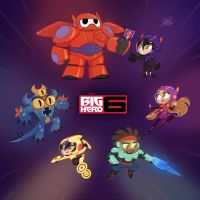 Big Hero 6 Chibis by princekido
