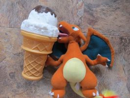 Charizards Like Ice Cream Too by Pigpeter
