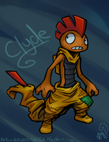 Clyde the Scrafty by spookydoom