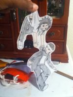 Kaulitz Twins Paper Children by Kana-of-the-Flames