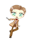 chibi 11th doctor by Danielle-chan