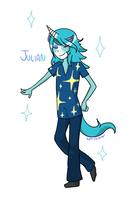 Julian Animal Crossing New Leaf by spaceotters