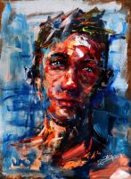 Portrait of an unknown II by artchecho