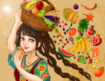 CE: Of Fruit Salads and Plentiful Harvests by miiandering
