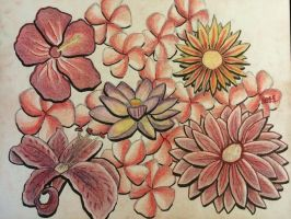 Flowers closer to being done by Caliborn4life