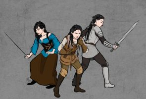 Misc - Snow Whites by fortheloveofpizza