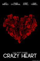 Crazy Heart Poster by Lafar88