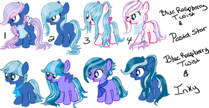My OC Foals Shipping Set 1 (Closed) by Arianstar
