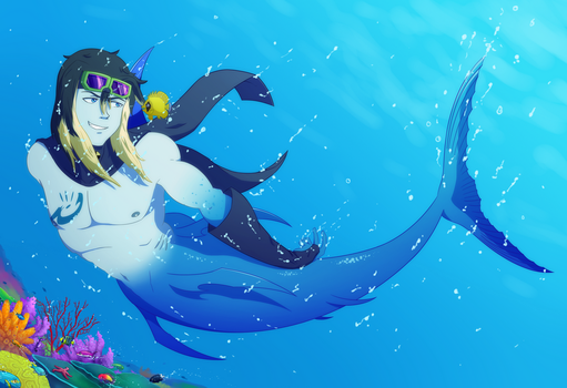 Tale of a Sailfish by Destron23
