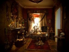 Miniature Seance Room by HirschArt