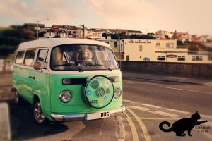 VW Surf Bus by CatAttack2014