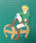 LoZ: Link's Paper Chest by Kinetic-duet