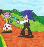 Sonic's Easter by Ad1er