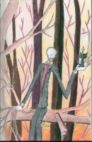 Slenderman Finds a Cat by TrogdorFire25