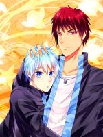 KnB-kagakuro by CaptainStrawberry