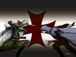 Templar Battle Redux 2 by patgarci