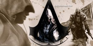 Mohawk Territory- Assassin's Creed 3-Connor by amberelaine