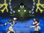 Battle Of The Doctors by TheIransonic