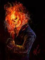 The Ghost Rider by XagroS