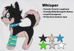 Ghost FC: Whisper Ref. by Sam-the-wolf147