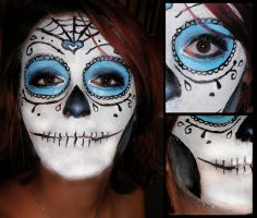 Sugar Skull. by maria-the-freak