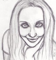 Self portrait Sketch by kataiya