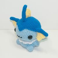 Vaporeon by Heartstringcrochet