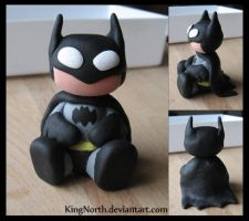 Clay Batman by KingNorth