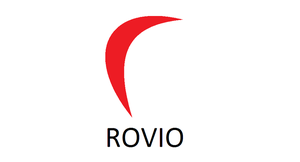 Rovio's redesigned logo by Charleston-and-Itchy