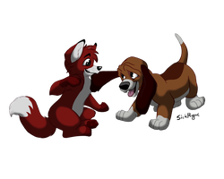 The Fox And The Hound by SickRogue
