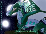 Wings of Fire Phantom of a Chance cover page by draconixon