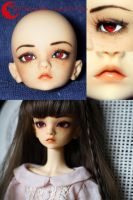 BJD Face Up - Doll Chateau Bella by Izabeth