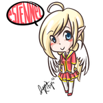 Chibi Estennel by Student-Elfone